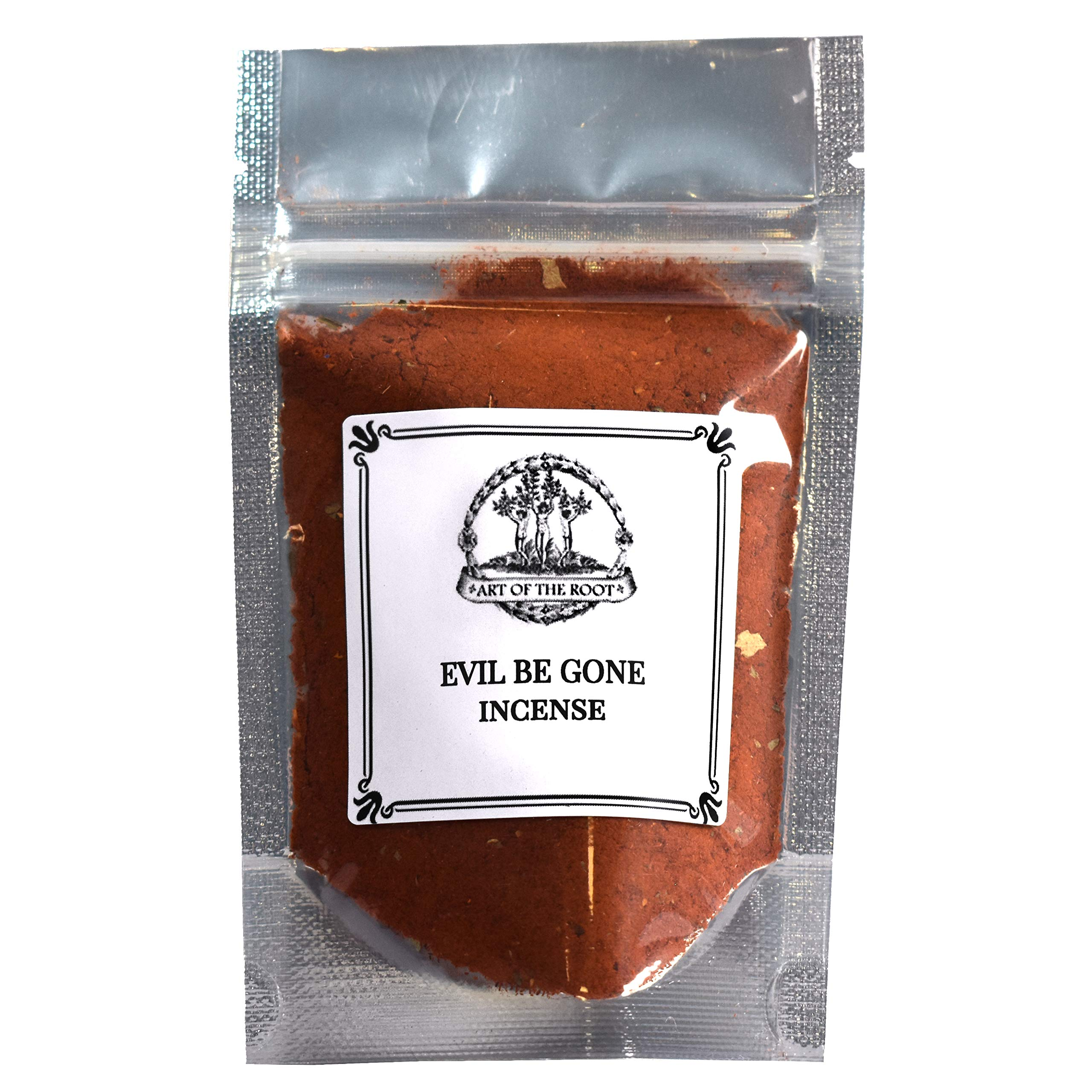 Evil Be Gone Incense for Negativity, Spirits & Unwanted Energy 1.25 oz Hoodoo Voodoo Wicca Pagan