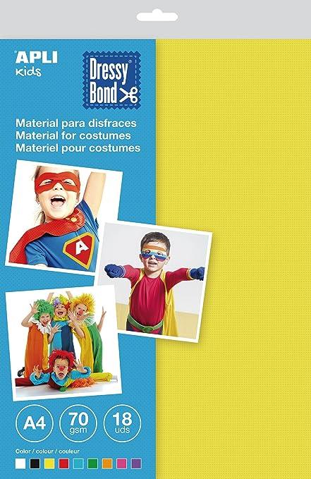 APLI Kids - Bolsa tela para disfraces Dressy Bond A4 ...