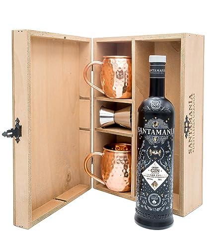 Estuche Regalo de Madera - SANTAMANIA LEYENDA Urbana Gin ...