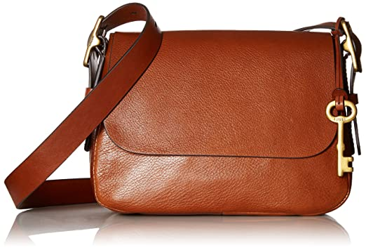 a1aee4a963a2 Fossil Harper Small Crossbody Bag, Brown: Handbags: Amazon.com
