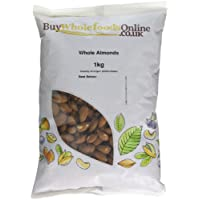 Buy Whole Foods Almonds Whole, 1 Kg