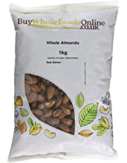 Buy Whole Foods Online Almonds Whole, 1 Kg