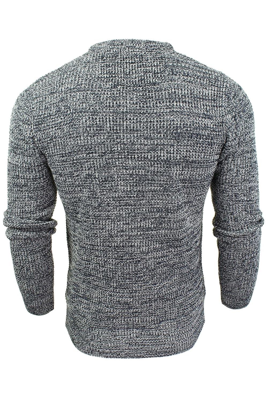 2196281641da5 Brave Soul Mens Crew Neck Jumper Long Sleeved  Amazon.co.uk  Clothing