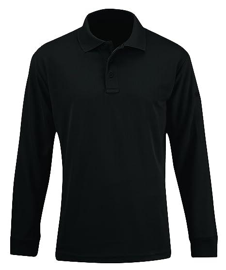 85a083bf1c0 Amazon.com  Propper Men s Uniform Long Sleeve Polo Shirt  Sports ...