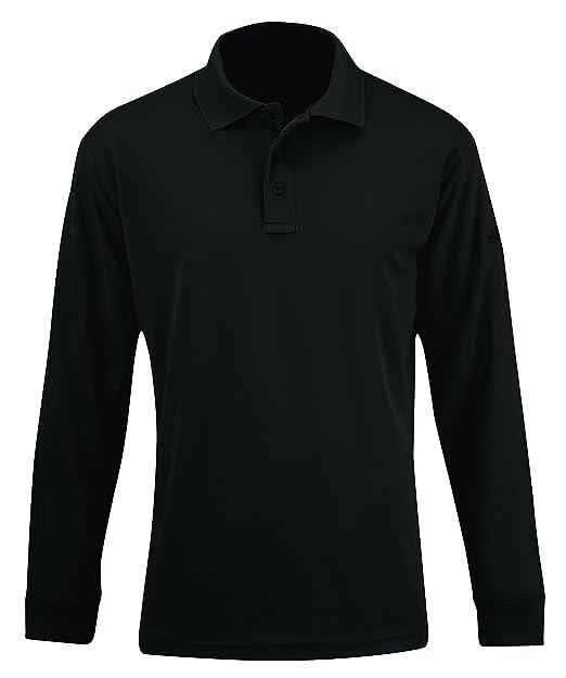 194bf98711137 Amazon.com: Propper Men's Uniform Long Sleeve Polo Shirt: Clothing