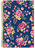"""bloom daily planners 2017-18 Academic Year Daily Planner - Passion/Goal Organizer - Monthly and Weekly Datebook and Calendar - August 2017 - July 2018 - 6"""" x 8.25"""" - Vintage Floral"""