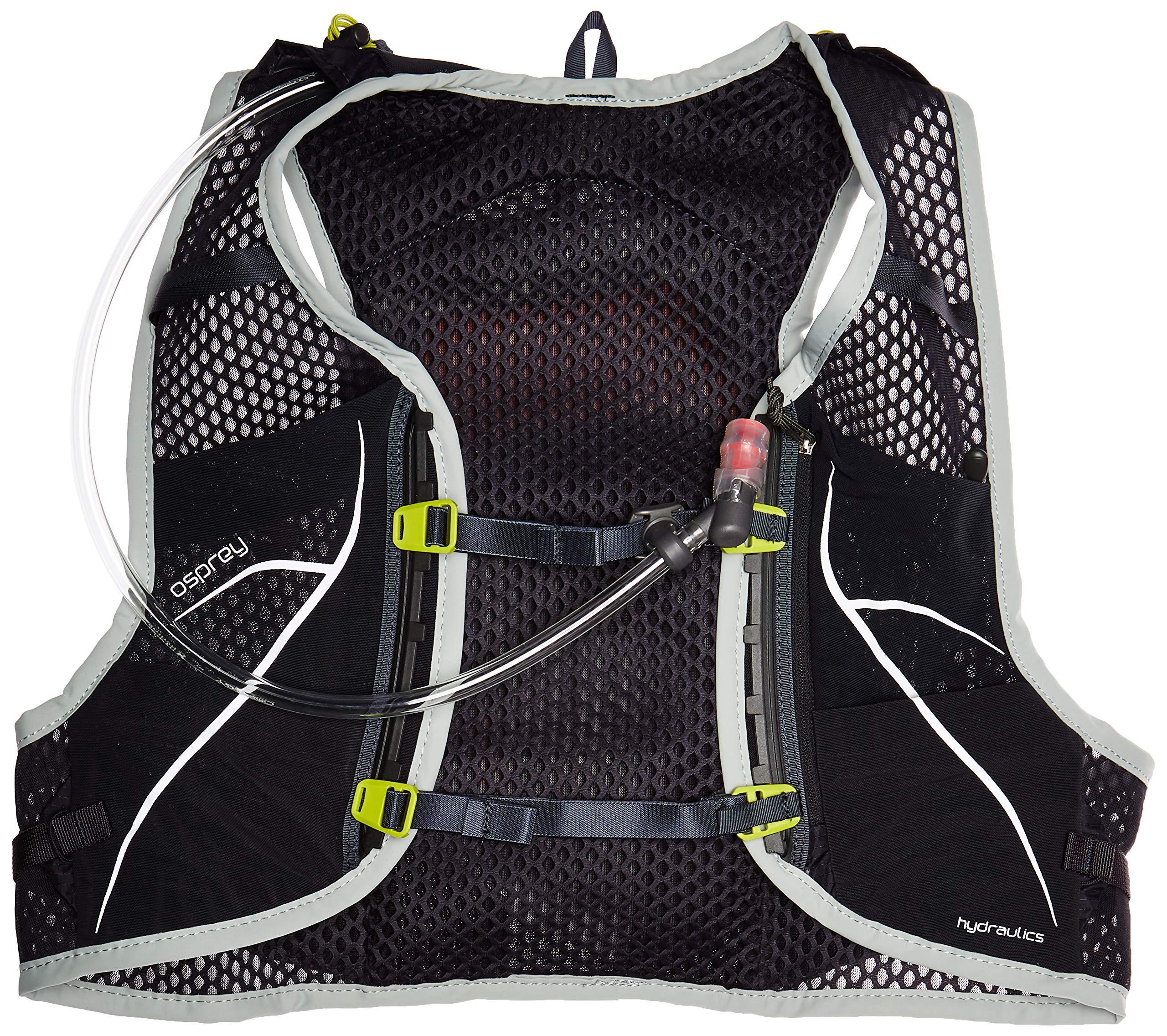 Osprey Packs Duro 1.5L Running Hydration Vest, Alpine Black, Small/Medium, S/M