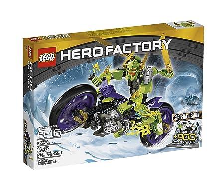 Lego Hero Factory SPEEDA DEMON [6231]: Amazon.es: Juguetes y ...
