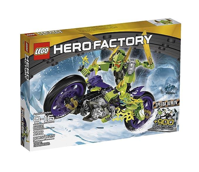Amazon.com: LEGO Hero Factory 6231 Speeda Demon: Toys & Games