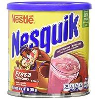 Deals on Nesquick Strawberry Flavored Powder 14.1oz