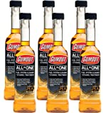 Gumout 510016 All-in-ONE Complete Fuel System Cleaner + Ethanol Treatment 6 Pack