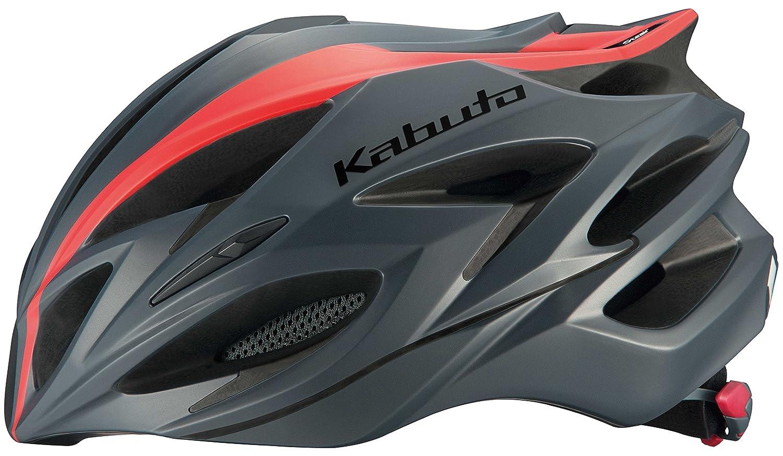 OGK KABUTO(オージーケーカブト) ヘルメット STEAIR-X ラインマットレッド サイズ: XXL/XXXL   B01MYGALRX