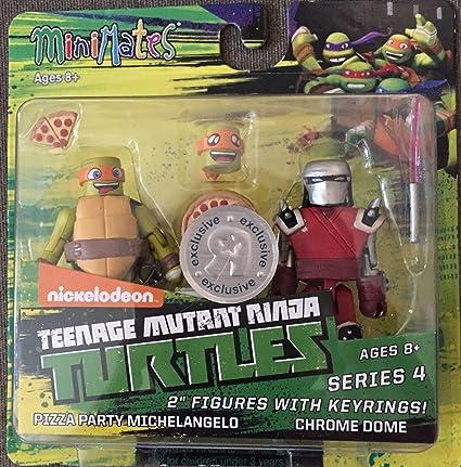 Amazon.com: Minimates Teenage Mutant Ninja Turtles Pizza ...