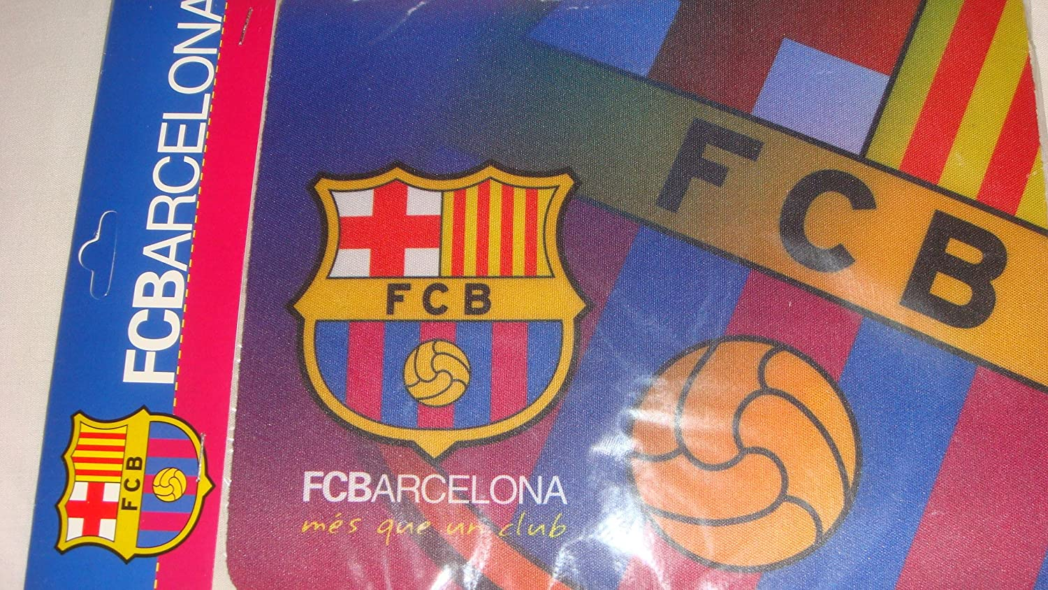 Official FC BARCELONA MES QUE UN CLUB soft pvc mousemat