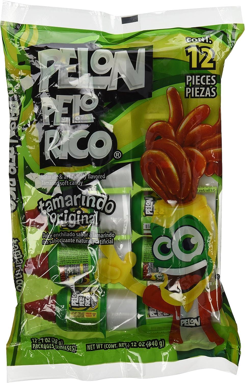 Pelon Pelo Rico Tamarind Chili Candy, (pack of 12): Amazon.es: Alimentación y bebidas