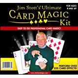 Jim Stott's Ultimate Card Magic Kit Featuring a Svengali Deck, Marked Deck, Vanishing Card Case, Magic Card Box, Secret Website, Instructional Videos and Much More!
