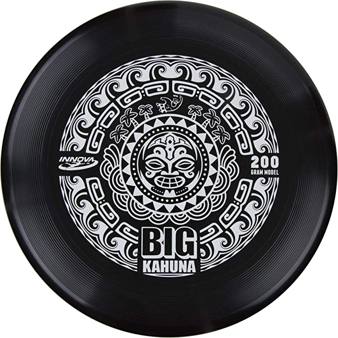 Hot Stamp Color May Vary Tiki Design Innova Discs Big Kahuna 200g Heavyweight Ultimate Catch Disc