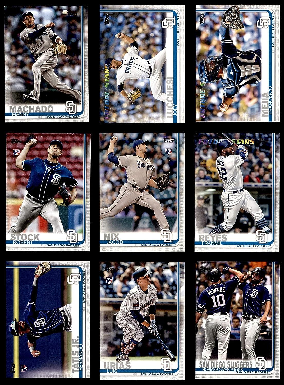 2019 Topps San Diego Padres Team Set San Diego Padres (Baseball Set) Dean's Cards 8 - NM/MT Padres 91G02BtMpBPL