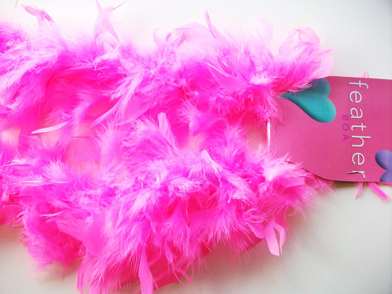 2M 50g Feather Boa Craft Card Making Cosplay Hen Night Fancy Dress Accessory