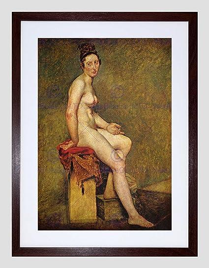 4e3722158ac Amazon.com  Eugene Delacroix Mademoiselle Rose Old Master Black ...