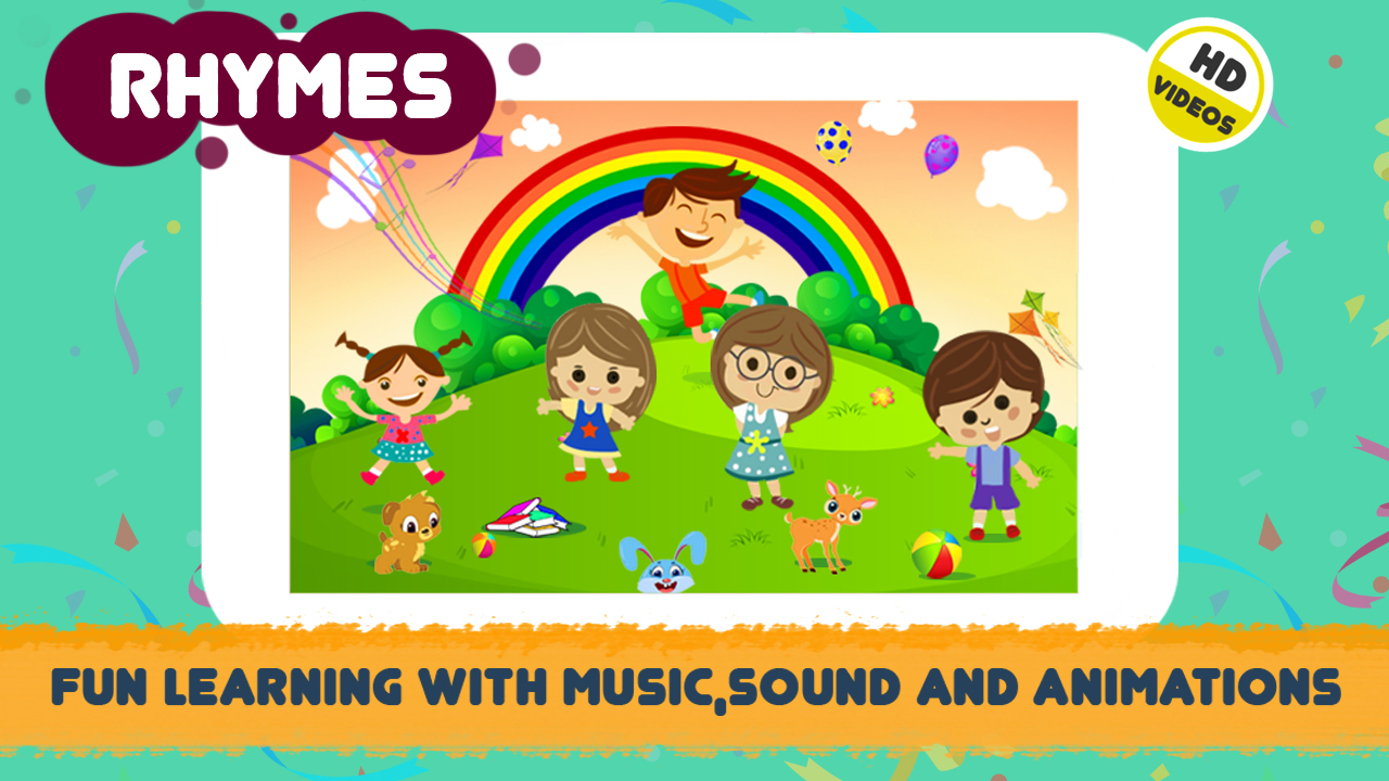 ABC Song - Rhymes Videos, Games, Phonics Learning - Apps ...