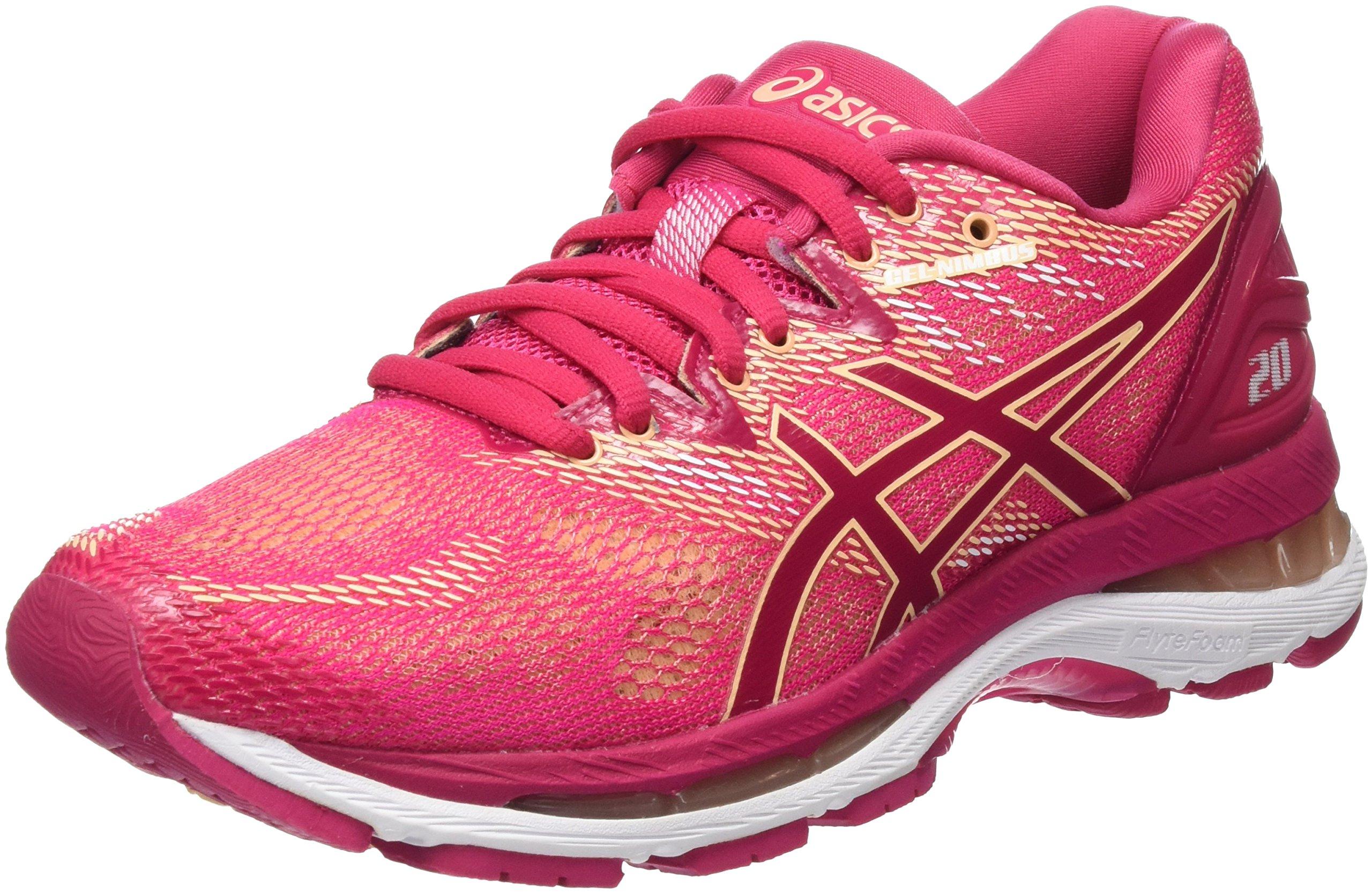 ASICS Women's Gel-Nimbus 20 Running Shoe, 6.5, Pink by ASICS (Image #1)