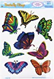 Butterfly Clings Party Accessory (1 count) (8/Sh)