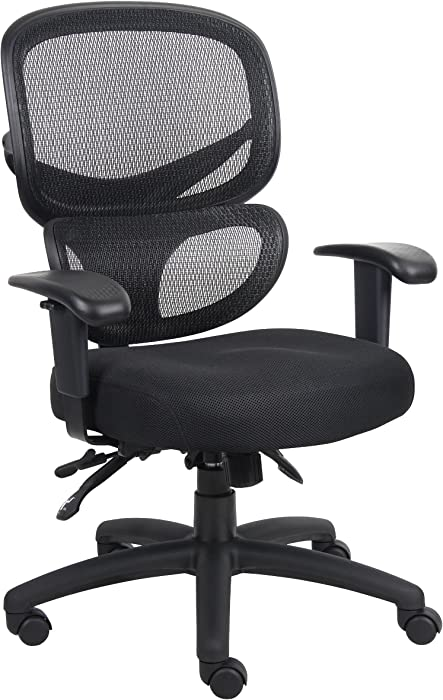 Boss Office Products Multi-Function Task Chair in Black