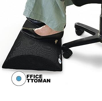Foot Rest Under Desk Non-Slip Ergonomic Foam Cushion - Excellent Under Desk Leg Clearance  sc 1 st  Amazon.com & Amazon.com : Foot Rest Under Desk Non-Slip Ergonomic Foam Cushion ... islam-shia.org