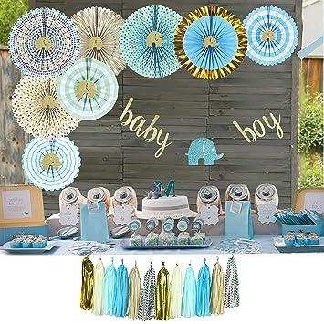 Amazon.com: Yara - Kit de decoración para la ducha del bebé ...