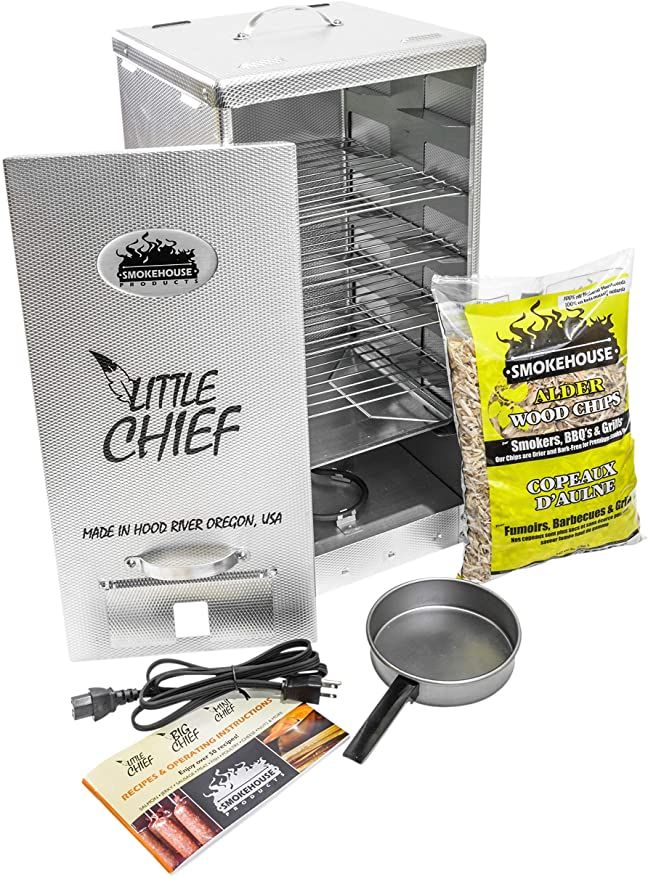 Smokehouse Products Little Chief Electric Smoker - Maximum Safety & Security
