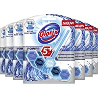 Glorix Power-5 Toiletblok Blauw Water Fresh Ocean - 7 stuks - Multipack