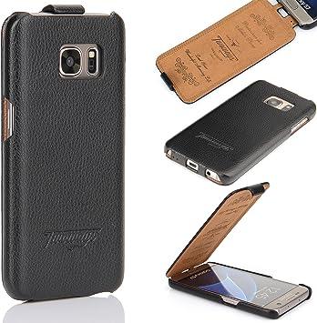 Twoways - Funda para Galaxy S4 (para los modelos i9500/i9505, piel, diseño con tapa, gran protección), colores negro, marrón, rojo, rosa y blanco: Amazon.es: Electrónica
