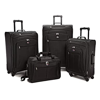 959426caf8 American Tourister Luggage Pop Extra Spinner - 4 Piece Set (4PC Set