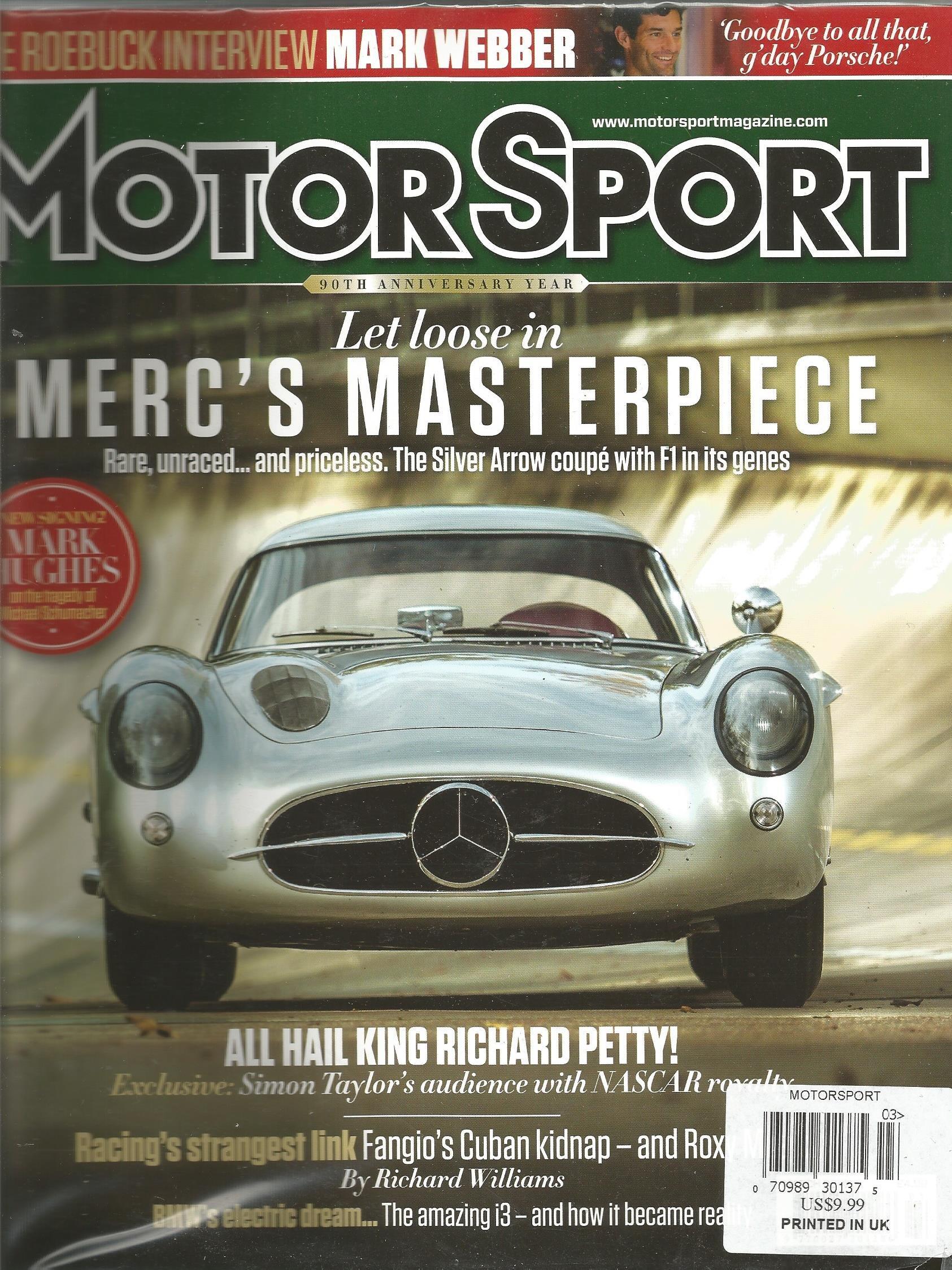 Read Online Motorsport Magazine (March 2014) ebook