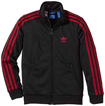 adidas boys firebird tuta top tartan, ragazzi, trainingsjacke