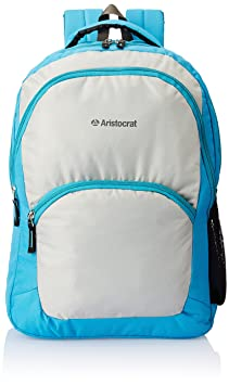 Aristocrat 25 LTR Light Blue Casual Backpack (BPX2LBL)
