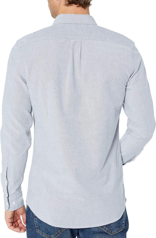 Goodthreads Slim Fit Long Sleeve Oxford Shirt W//Pocket Hombre Marca