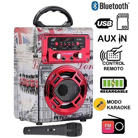 Tv, Video & Audio Audio-docks & Mini-lautsprecher modell 9 Altavoz Karaoke Con Micrófono 15w Radio Fm Portátil Inalámbrico U