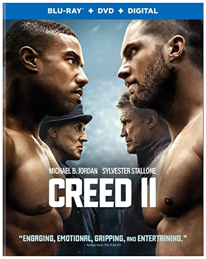 Creed II on Blu-ray DVD ONLY $...