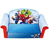 Marshmallow Furniture, Children's 2-in-1 Flip Open Foam Sofa