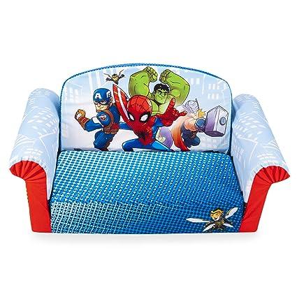 Amazon.com: Muebles Marshmallow, Sofá de espuma para niños 2 ...