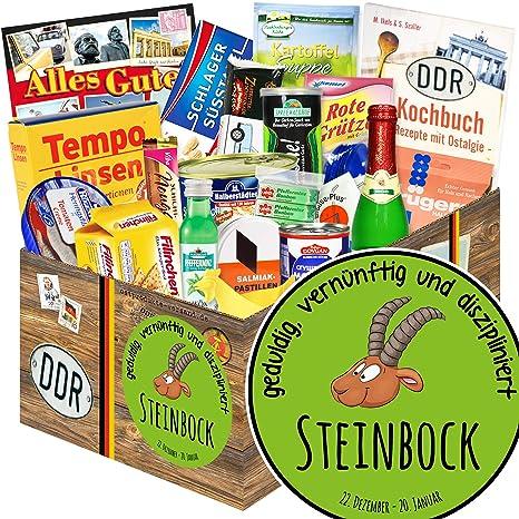 Sternzeichen Steinbock Steinbock Geschenk Nostalgieset