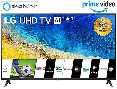 LG 139 cm (55 inches) 4K UHD Smart LED TV...