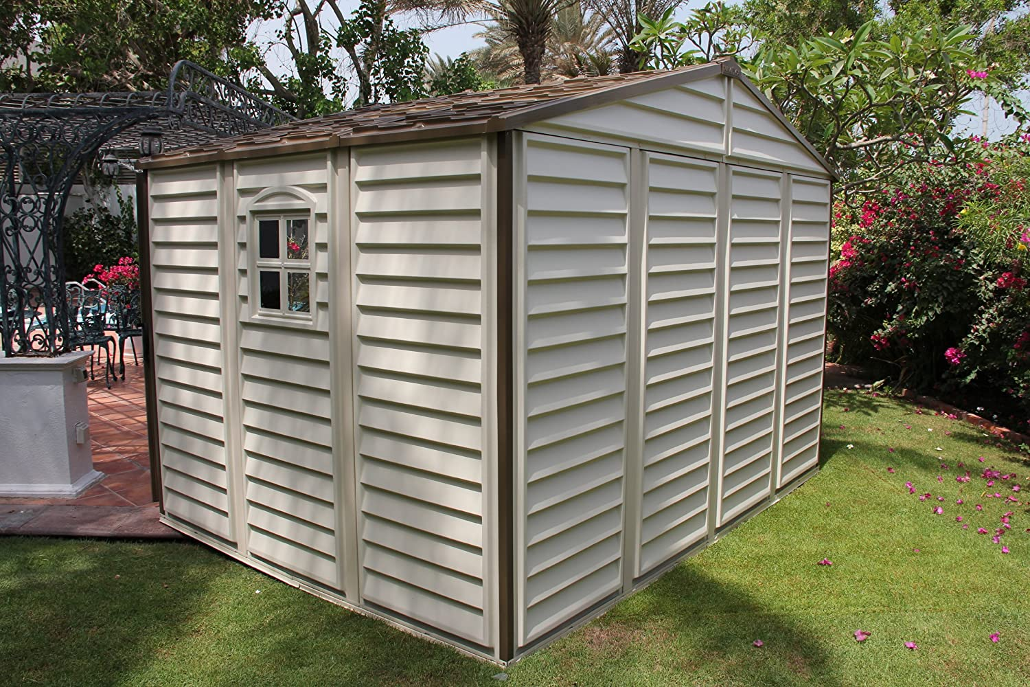 at storage display reviews vinyl for common shop resin lowes outdoor pl sheds com outdoors x gable shed ft product