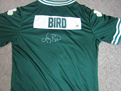 e250973d2bc Image Unavailable. Image not available for. Color  LARRY BIRD AUTOGRAPHED  SIGNED BOSTON CELTICS WARM UP JACKET