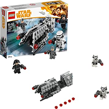 LEGO Star Wars - Pack de combate: patrulla imperial (75207 ...