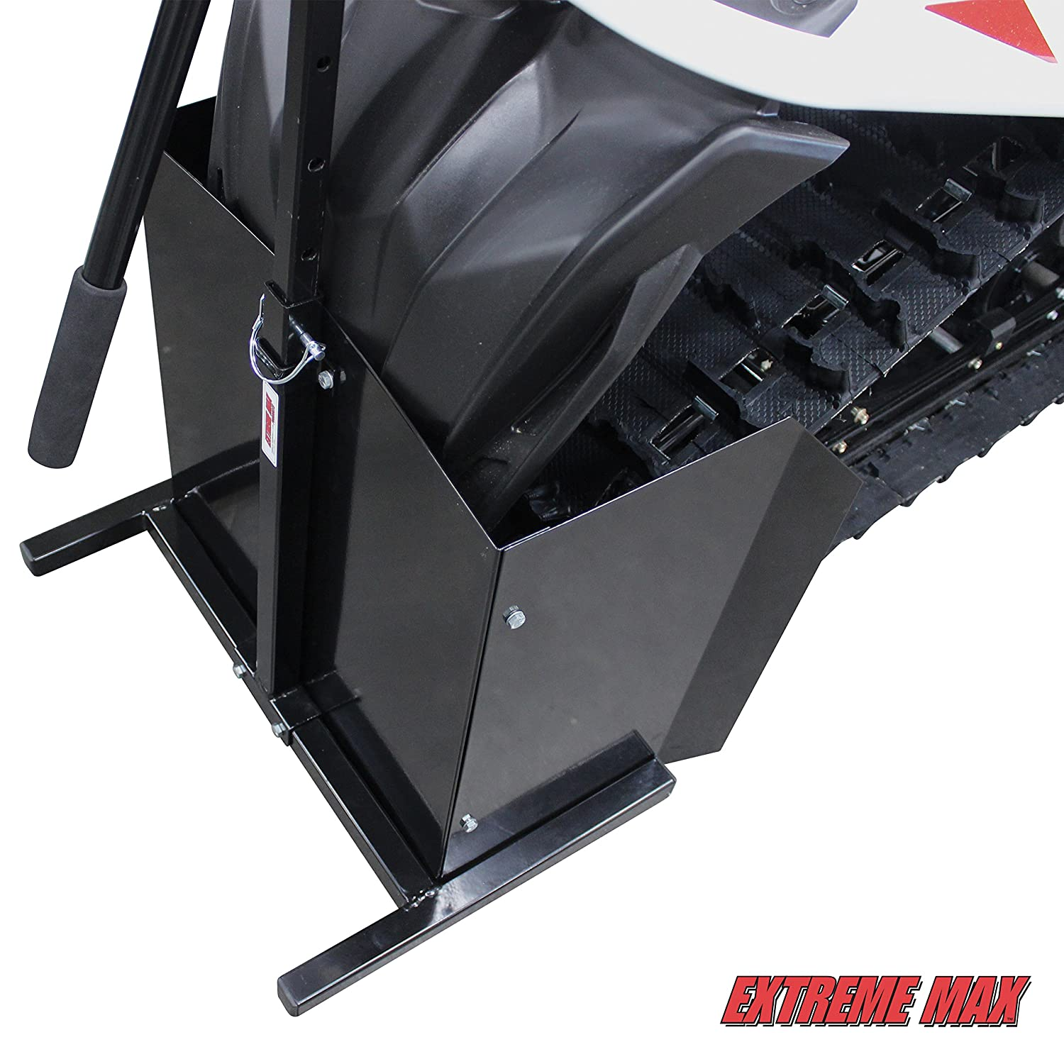 Extreme Max 5001.6026 Lever Lift Stand with Warm-Up Shield