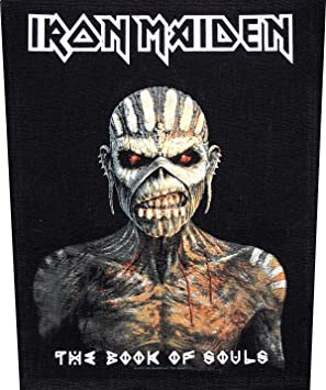 Unbekannt Iron Maiden Espalda Parche Book of Souls Back Parches: Amazon.es: Deportes y aire libre
