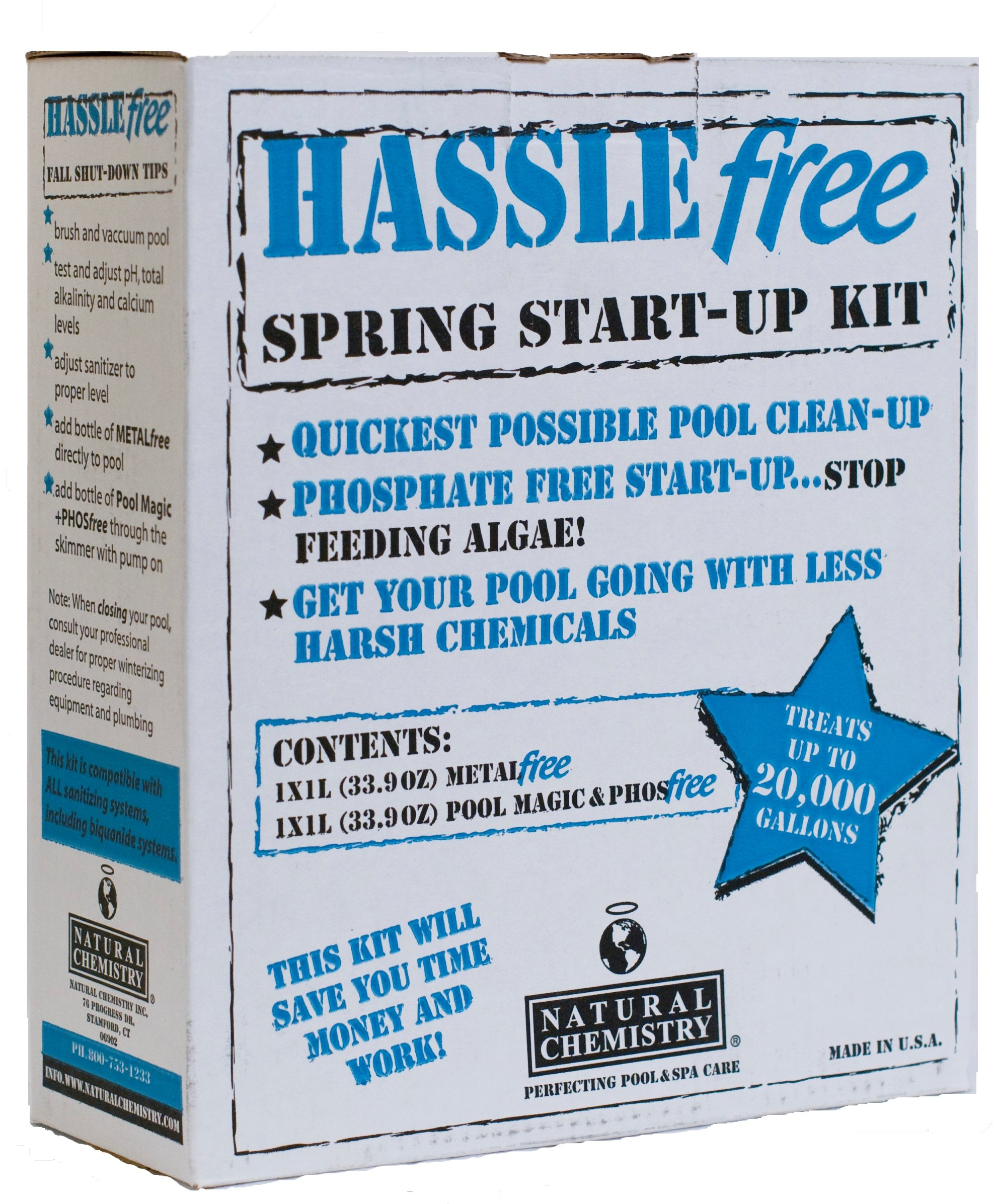 Natural Chemistry 08002 Hassle Free Open/Close Pool Cleaning Kit by Natural Chemistry